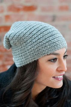 Button Flap Hat Knitted in Plymouth Homestead Yarn