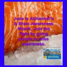 """Omega Fish Oil Helps Support a Healthy Brain.  This is proven by scientific research.  Alzheimer's Association. Go Purple with a Purpose for Alzheimer's Disease Awareness and Caregivers Month.  This is a good time to start a lifestyle that supports a healthy brain.  DHA and EPA In Omega3 Fish Oil is proven to help your brain health.  It's a """"No Brainer"""" :) diets that are rich in EPA and DHA may help: improve memory to boost your mood.  Omega 3 fish oil fights inflammation the beginning of…"""