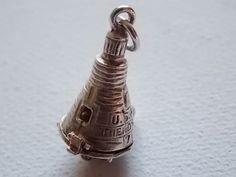 Vintage Silver FRIENDSHIP 7 Space Capsule Charm - SO RARE!