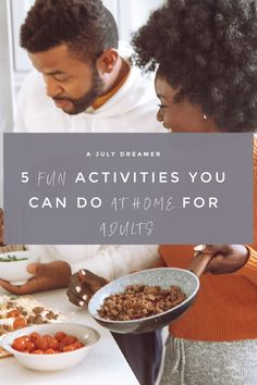 Are you stuck indoors and are searching for the best things to do when you are stuck at home? Well, look no further because I have compiled 5 fun activities you can do at home and this one is geared towards adults. Over the last few months, it's been tough for many being stuck indoors and not having much choice in where we can go because almost everything is closed. It can take a toll on one's mental health and overall wellbeing once cabin fever sets in for the millionth time.