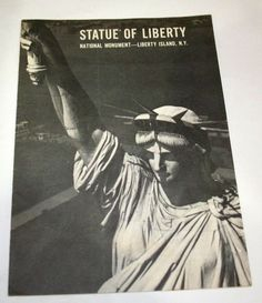 Statue of Liberty Travel Visitor Info Map NYC Vintage Ephemera Brochure 1964
