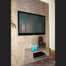 tv wand gestoomd noten - Tv Wand