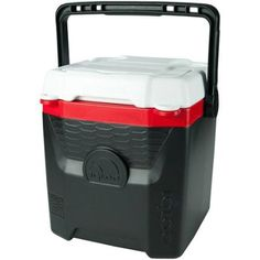 Igloo 12-quart Quantum Cooler, Black/red ** Want additional info? Click on the image.