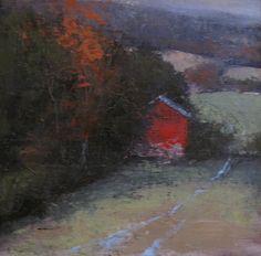Sheridan Barn by Romona Youngquist Oil ~ 12 x 12