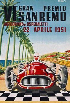 1951 VI Gran Premio di Sanremo