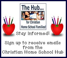 Stay informed by signing up for our newsletter! #homeschool