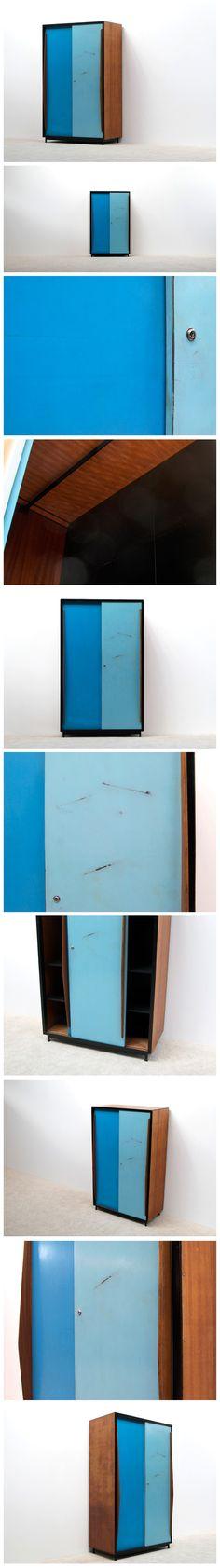 Van Der Meeren Willy Wardrobe Cabinet Tubax 1952