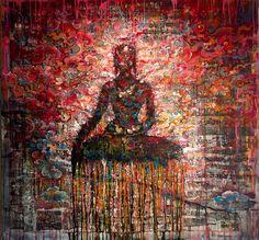 Buddha by Tashi Norbu