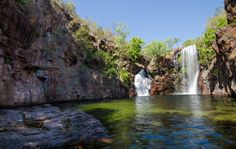 Florence Falls, Litchfield National Park, Northern Territory, Australia..