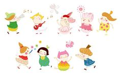 小人物插畫 by Mavis+, via Flickr