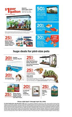 Petco Weekly Ad April 1 - 28, 2018 - http://www.olcatalog.com/petco/petco-weekly-ad.html