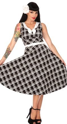 Aren't You Glad Plaid Flair Dress