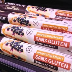 Pâte feuilletée sans gluten sans lactose (Et autres produits repérés pour vous dans les magasins)