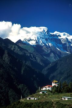 Living on the edge in Bhutan