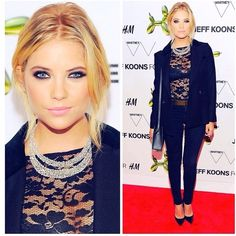 Pretty Little Liars star Ashley Benson's eyes are always stunning! We love the way her eye makeup looks!