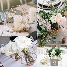 Industrial Geometric Pieces is part of Geometric wedding decor - These stunning geometric pieces are the perfect way to set off a fresh, modern wedding table Available in three sizes Mix and match for elegance! S 8 5810 M 11 L 16 515 Wedding Table Centerpieces, Wedding Flower Arrangements, Flower Centerpieces, Flower Decorations, Wedding Decorations, Table Decorations, Centerpiece Ideas, Terrarium Centerpiece, Centrepieces