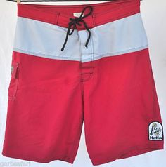 "Katin Intl Custom Surf Trunks | size 32 ""Opponent"" USA Made Board Shorts"