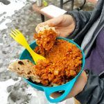 This lentil dhal and roti is an easy, flavorful, and protein-packed camping meal. This recipe comes together in 30 minutes, cooks in one pot on your camp stove, and is vegan to boot!