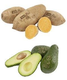 Bio-Gemüse und -Obst