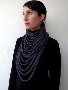 Layered necklace layered and long long layered от birdienumnumshop