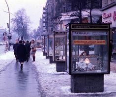 Der Kurfürstendamm im Winter, 1970