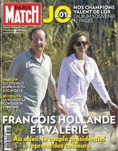 Paris Match N°3299 du 9 au 15 Aout 2012...!!!