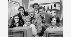 Celebrity husbands and wives on the gameshow, TATTLETALES. From left: Jo Ann Pflug and Chuck Woolery, Betty White and Allen Ludden, host Burt Convy, Pat Harrington and Marjorie Harrington. Image dated February Jackie Gleason, Osmond Family, Tv Show Games, Vintage Tv, Vintage Style, Betty White, All In The Family, Thanks For The Memories, Stars Then And Now