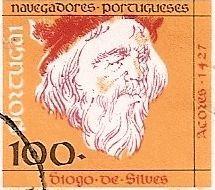 """DIOGO DE SILVES – (SÉC. XV) – De acordo com a cartógrafo catalão Gabriel de Valseca (1439), estudada pelo historiador Damião Peres, foi quem descobriu a Ilha de Santa Maria e da Ilha de São Miguel, e sucessivamente as 5 ilhas que do grupo central do arquipélago dos Açores Uma legenda, nessa carta, refere: """"Estas ilhas foram achadas por Diogo de Silves [Sunis?] piloto de El-Rei de Portugal no ano de 1427"""". REI D. JOÃO I (1357-1433) - """"O de BOA MEMÓRIA"""". Casou com D. Filipa de Lancastre."""