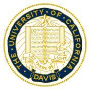 'UC Davis Sticker — Seal' Sticker by University Of California Davis, Davis California, Dream School, College Campus, Graduate School, Year Planning, Senior Year, Seals, Schools