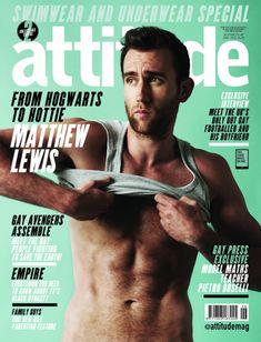 Matthew Lewis, alias Neville Londubat de la saga Harry Potter, a posé pour le magazine Attitude . Les photos ont été publiées aujourd'hui.