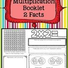 Help your students learn their TWO multiplication facts with this multiplication booklet.  FREE