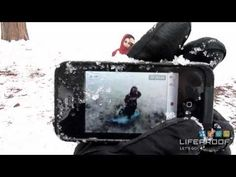 LIFEPROOF IPHONE CASE FOR THE IPHONE 4S / 4  Experience the freedom to surf, sing in the shower, ski, snowboard, work on construction sites and have true mobile freedom anywhere you go!