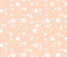 Stars - Blush by Andrea Lauren fabric by andrea_lauren on Spoonflower - custom fabric