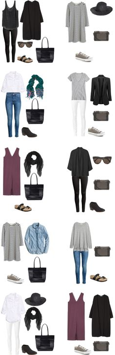 livelovesara - My life in a blog by Sara Watson. What to pack for Stockholm, Sweden in August. Outfits Options 1