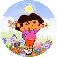 Imágenes de Dora la Exploradora.   Ideas y material gratis para fiestas y celebraciones Oh My Fiesta!