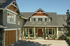 Craftsman Style House Plan - 5 Beds 4.50 Baths 3457 Sq/Ft Plan #48-148 Exterior - Front Elevation - Houseplans.com  I think this may be the one