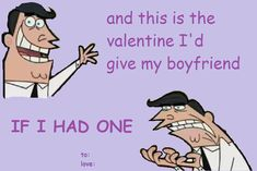 😂 I love fairly odd parents memes Valentines Day Cards Tumblr, Valentines Day Funny, Valentine Cards, Funny Quotes, Funny Memes, Hilarious, Love Memes, Funny Cards, Super Funny