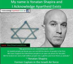 Yonatan Shapira -- Former Captain in the Israeli air force. More here: http://rabbibrant.com/2010/05/05/my-lunch-with-yonatan-shapira/