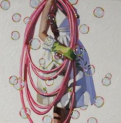 kelly reemsten 'spic n' span'...the bubbles are the best part. also like the pink hose :)