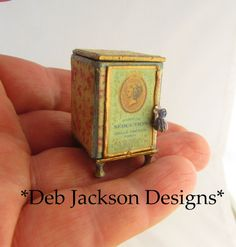 From DJD French style perfume case and vanity by DebJacksonDesigns