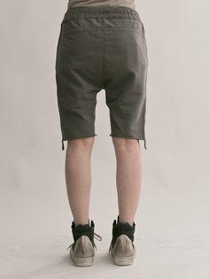 WOMEN DESIGNER :: ROQUE :: 14SS :: ROQUE Relax Shorts / DARK SMOKE