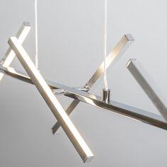 Lampa wisząca Cross stal