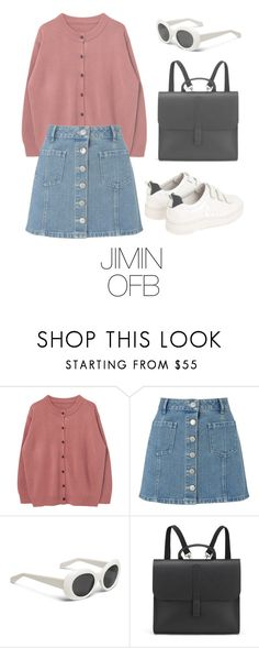 """""""Picnic with BTS"""" by mazera-kor ❤ liked on Polyvore featuring Miss Selfridge, Sandro, Danielle Foster, outfit, bts, jimin and BtsFashion"""