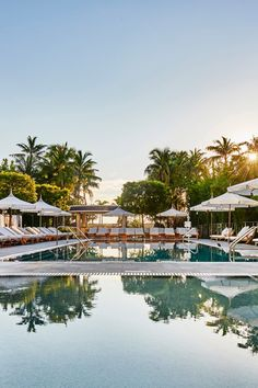 Miami's Hottest New Hotels - Whether you're looking for a hip urban getaway, a serene wellness retreat, or an intimate boutique, Miami has it all. And what better time to plan a vacation there than now?