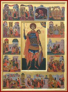 Saint George And The Dragon, Byzantine Art, Orthodox Christianity, Religious Icons, Orthodox Icons, Ikon, Saints, Ministry, Painting
