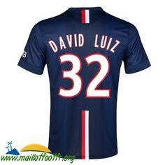 Haut Thailand Nouveau Maillot PSG (David Luiz 32) 2014 15 Saison Domicile http://www.maillotfootfr.org/haut-thailand-nouveau-maillot-psg-david-luiz-32-2014-15-saison-domicile-p-3360.html
