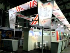 Austrian Economic Chamber's specially-designed booths at FHC China 2015 and ProWine China 2015