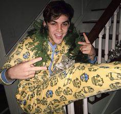 ||Grayson in his onesie||
