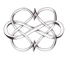 Double Heart Infinity tattoo, love it! Its official...this is my next tat!!!