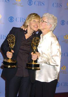 Pin for Later: Une Maman, S'est Sacré – Même Pour les Stars Ellen DeGeneres Ellen DeGeneres et sa maman, Betty, en Mai 2005.